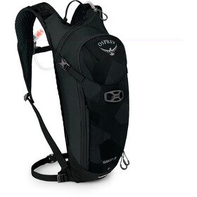 Osprey Siskin 8 Hydration Backpack Obsidian Black
